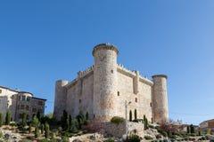 Castelo Torija, Guadalajara, Espanha Imagens de Stock