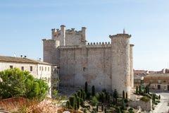 Castelo Torija, Guadalajara, Espanha fotografia de stock
