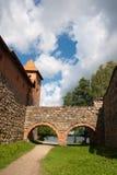 Castelo Trakai imagem de stock royalty free