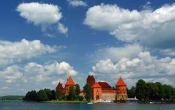Castelo Trakai Foto de Stock Royalty Free