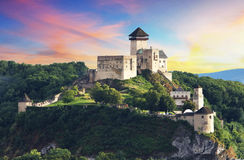 Castelo Trencin, Slovakia Imagem de Stock Royalty Free