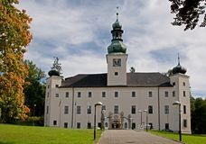 Castelo Trest, república checa Imagem de Stock