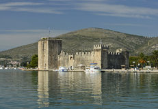 Castelo Trogir Fotos de Stock Royalty Free