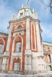 Castelo Tsaritsyno Fotos de Stock