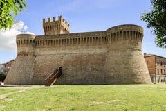Castelo Urbisaglia Fotos de Stock Royalty Free