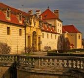 Castelo Valtice do marco Imagem de Stock Royalty Free