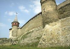 Castelo velho Fotos de Stock Royalty Free