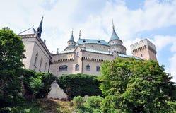 castelo velho Bojnice, Eslováquia, Europa Imagem de Stock Royalty Free