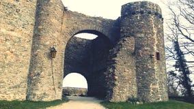 Castelo velho da ruína imagem de stock royalty free