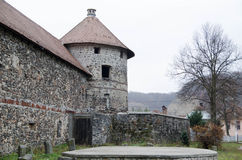 Castelo velho de Transilvanian Imagem de Stock Royalty Free