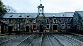 castelo velho do galgorm do pátio Foto de Stock Royalty Free