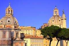 Castelo velho em Roma Imagens de Stock