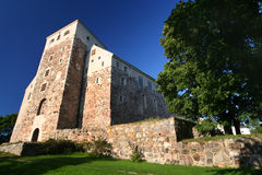 Castelo velho em Turku Fotografia de Stock Royalty Free