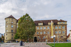 Castelo velho, Estugarda, Alemanha Fotografia de Stock