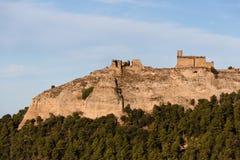 Castelo velho nas ruínas fotografia de stock royalty free