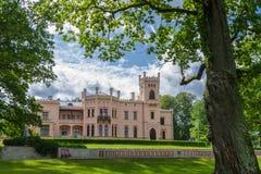 Castelo velho no parque Fotos de Stock Royalty Free