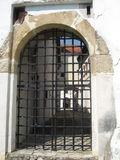 Castelo velho Varazdin da porta do ferro Foto de Stock Royalty Free