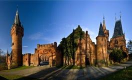 Castelo vermelho Fotografia de Stock Royalty Free