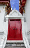 Castelo vermelho Fotografia de Stock