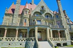 Castelo Victoria BC Canadá de Craigdarroch Imagem de Stock Royalty Free