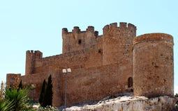 Castelo Villena Foto de Stock Royalty Free