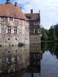 Castelo Vischering, Luedinghausen Foto de Stock