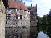 Castelo Vischering, Luedinghausen Foto de Stock Royalty Free