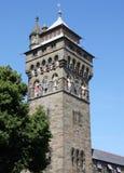 Castelo Wales Reino Unido de Cardiff Fotos de Stock Royalty Free