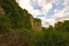 Castelo Wartenbert na vila Muttenz Fotografia de Stock Royalty Free