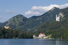Castelos bávaros Foto de Stock Royalty Free