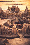 Castelos da areia Imagem de Stock