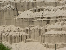 Castelos da areia Imagens de Stock