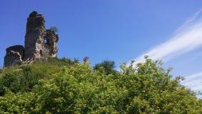 Castelos de França: Château-sur-Epte Foto de Stock Royalty Free