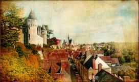 Castelos de France Foto de Stock Royalty Free