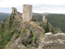 Castelos de Lastours Imagens de Stock Royalty Free