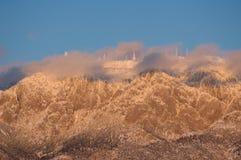 Castelos do gelo Imagens de Stock