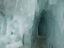 Castelos do gelo Fotografia de Stock Royalty Free