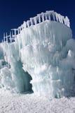 Castelos do gelo de Silverthorne Fotografia de Stock Royalty Free