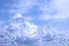 Castelos no air-3 ilustração royalty free