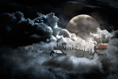Castelos no ar Fotografia de Stock