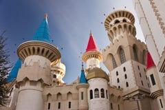Castelos no ar imagem de stock