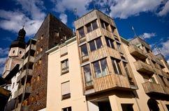 Castelrotto architecture Stock Photo