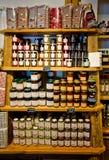 Castelrotto-Fleck-Shopinnenraum Stockbilder