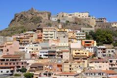 castelsardo意大利撒丁岛 图库摄影