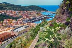 castelsardo意大利撒丁岛 免版税图库摄影