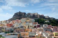 castelsardo意大利撒丁岛 免版税库存图片