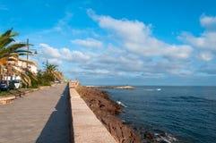 castelsardo,撒丁岛风景  免版税库存照片