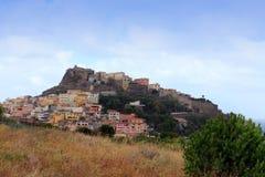 Castelsardo,撒丁岛,意大利 免版税库存图片