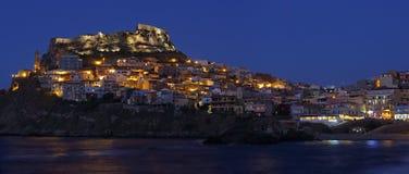 Castelsardo, Сардиния Стоковое Изображение RF
