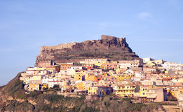 Castelsardo Royalty Free Stock Images